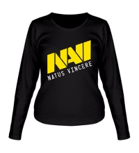 Женский лонгслив NAVI Natus Vincere Team