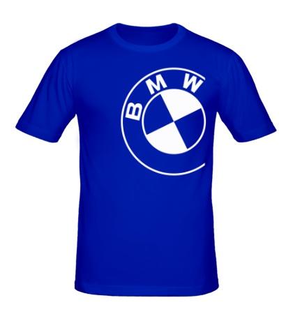 Мужская футболка Значок БМВ