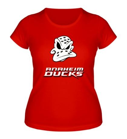 Женская футболка HC Anaheim Ducks Art