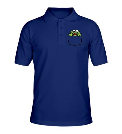 Рубашка поло Карманный крокодил