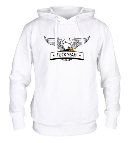 Толстовка с капюшоном Eagle: Fuck Yeah