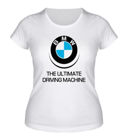 Женская футболка BMW Driving Machine