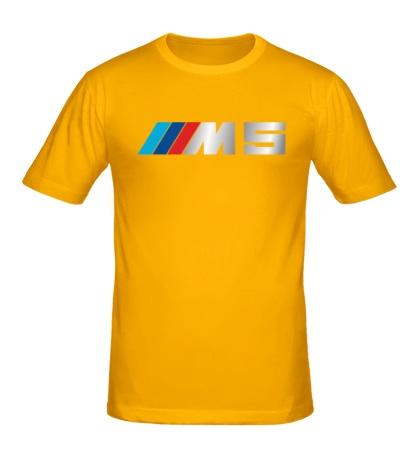 Мужская футболка BMW M5 Driving