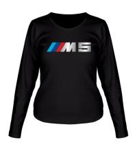 Женский лонгслив BMW M5 Driving