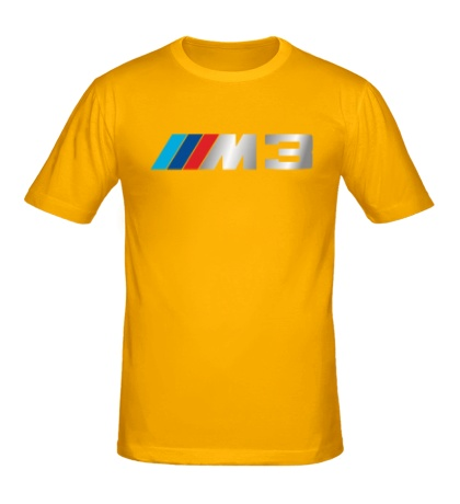 Мужская футболка BMW M3 Driving