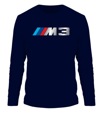 Мужской лонгслив BMW M3 Driving