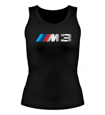 Женская майка BMW M3 Driving