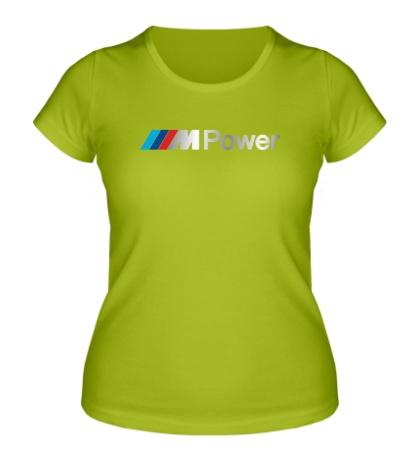 Женская футболка BMW M Power