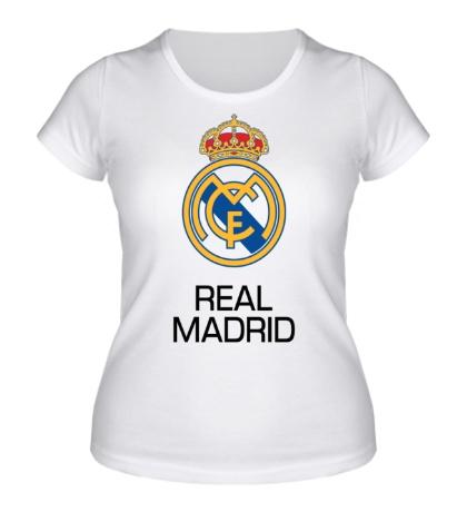 Женская футболка «Real Madrid Symbol»