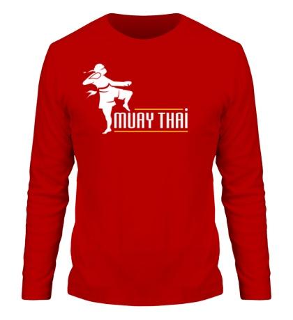 Мужской лонгслив Muay Thai Boxer