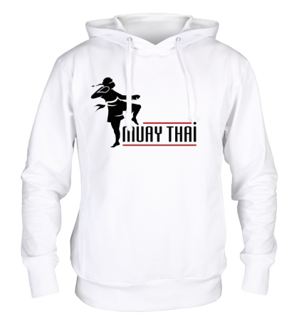 Толстовка с капюшоном Muay Thai Boxer