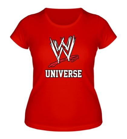 Женская футболка WWE Universe