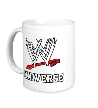 Керамическая кружка WWE Universe