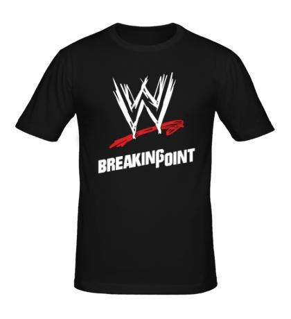 Мужская футболка WWE Breaking Point