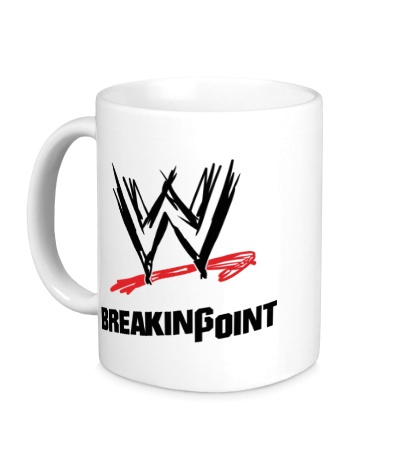 Керамическая кружка WWE Breaking Point