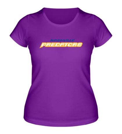 Женская футболка HC Nashville Predators Sign