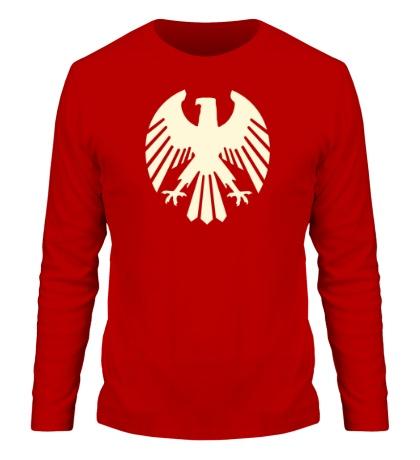 Мужской лонгслив Немецкий орел, свет