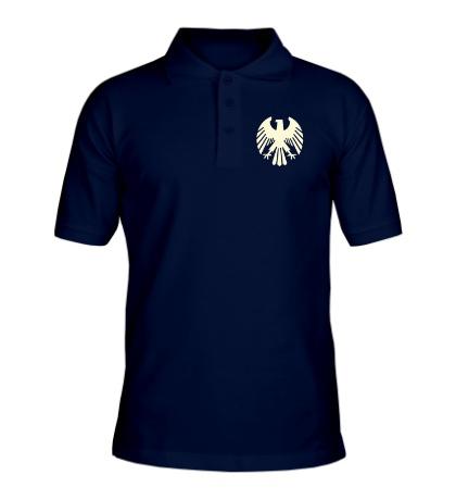 Рубашка поло Немецкий орел, свет