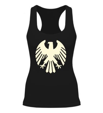 Женская борцовка Немецкий орел, свет