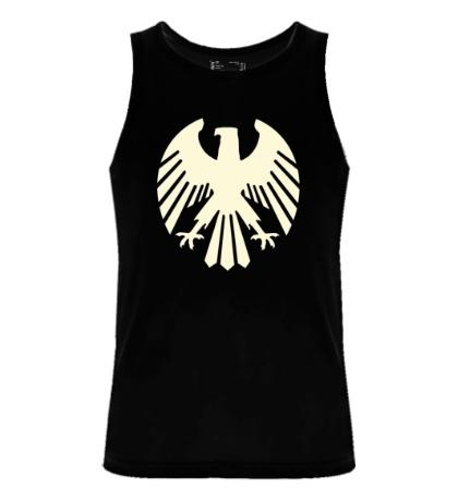 Мужская майка Немецкий орел, свет