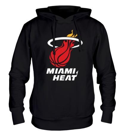 Толстовка с капюшоном Miami Heat