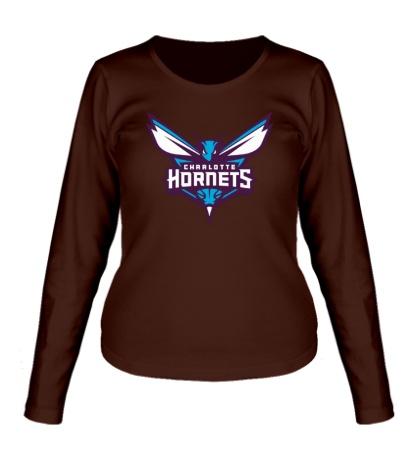 Женский лонгслив Charlotte Hornets