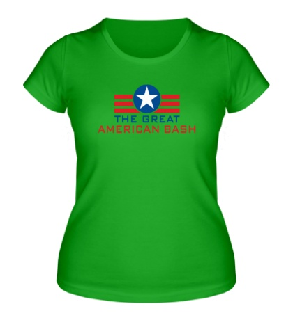Женская футболка WWE Great American Bash