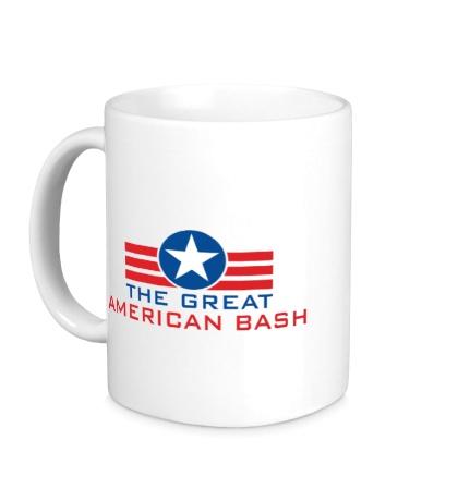 Керамическая кружка WWE Great American Bash