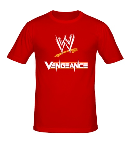 Мужская футболка WWE Vengeance