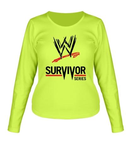 Женский лонгслив WWE Survivor Series