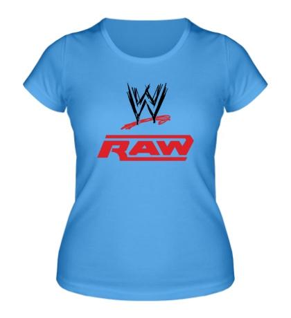 Женская футболка WWE Raw