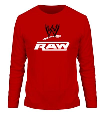 Мужской лонгслив WWE Raw