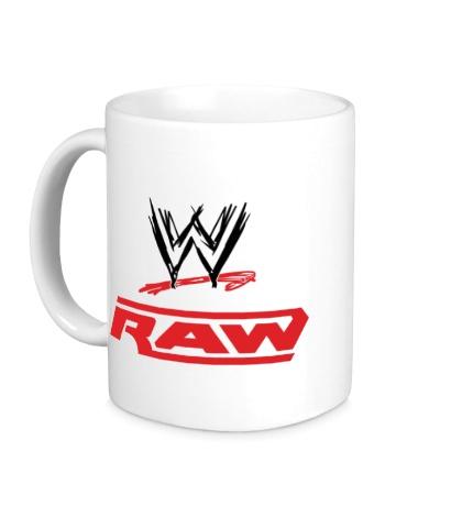Керамическая кружка WWE Raw