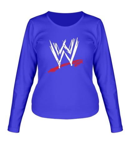 Женский лонгслив WWE