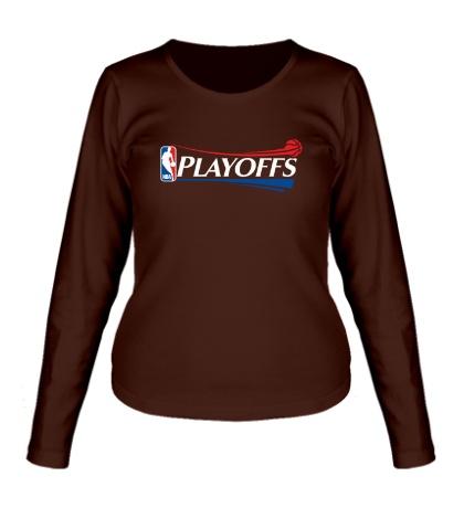Женский лонгслив NBA Playoffs