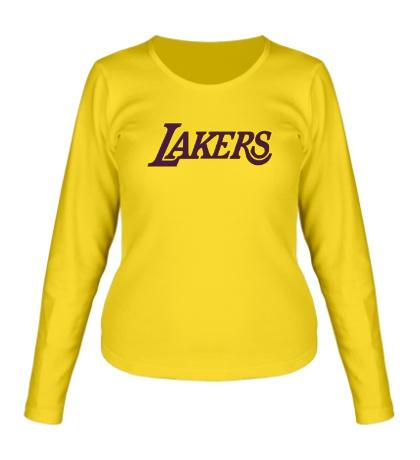 Женский лонгслив LA Lakers