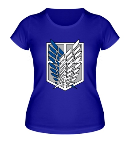 Женская футболка Эблема разведчиков