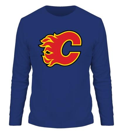 Мужской лонгслив HC Calgary Flames