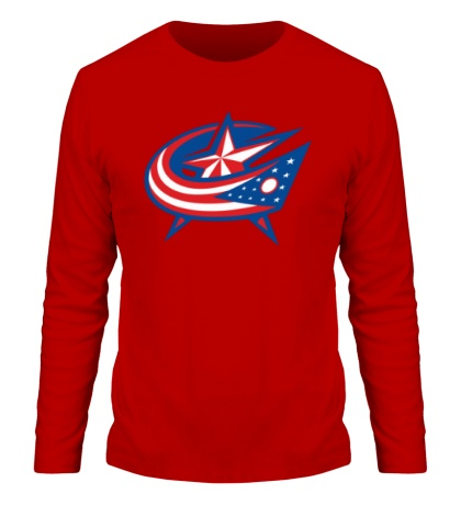 Мужской лонгслив HC Columbus Blue Jackets Alternative