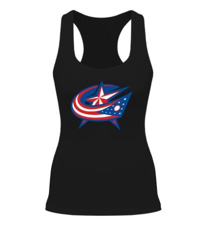Женская борцовка HC Columbus Blue Jackets Alternative