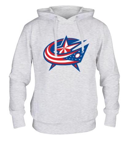 Толстовка с капюшоном HC Columbus Blue Jackets Alternative