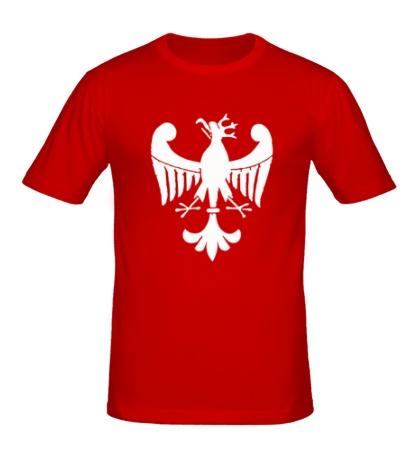Мужская футболка Средневековый орел