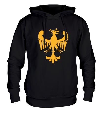 Толстовка с капюшоном Средневековый орел