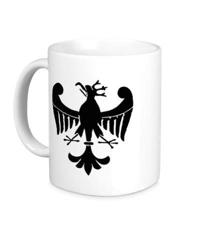 Керамическая кружка Средневековый орел