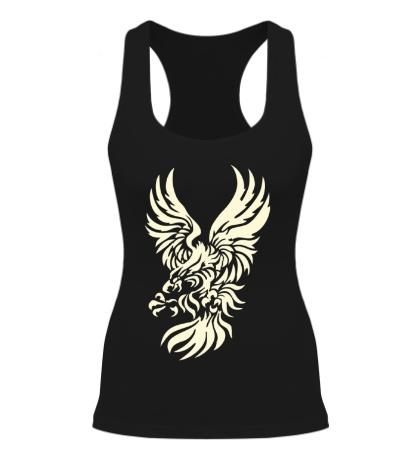 Женская борцовка Орел в броске свет