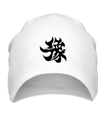 Шапка Счастье: японский иероглиф