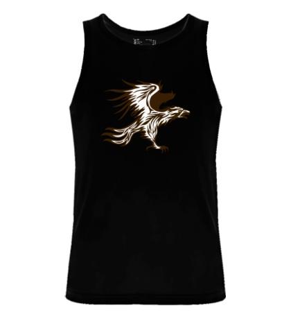 Мужская майка Огненный орел
