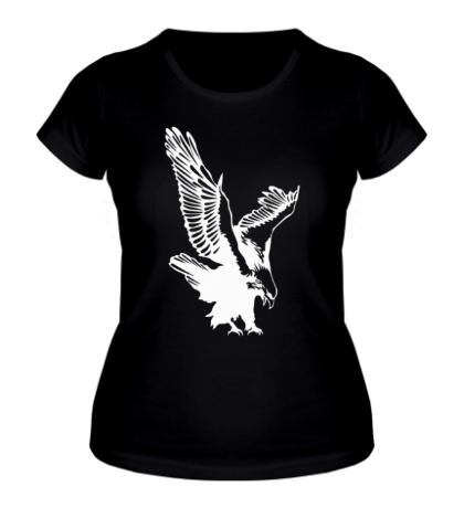 Женская футболка Орлиный размах крыльев