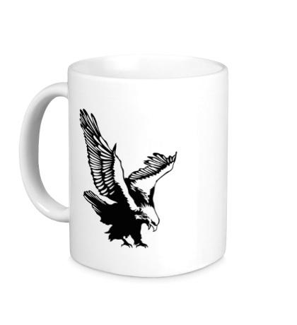 Керамическая кружка Орлиный размах крыльев
