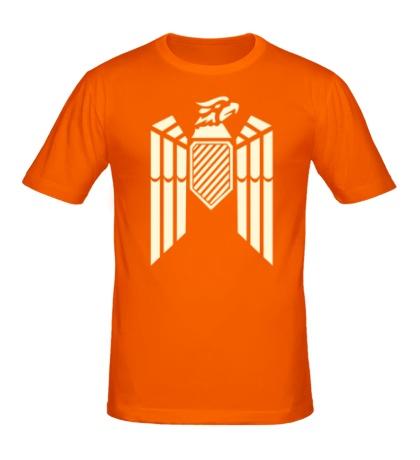 Мужская футболка Немецкий гербовый орел свет
